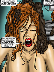 Your big white ass feels real good - Emptiness by Illustrated interracial