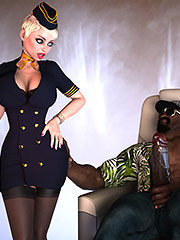 Interracial, bbc, huge dick - Mile High Club by TaiDoro