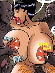 You know you like it, you big titted slut - Journalist in Peril  by Interracial collection 2016