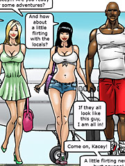 Let me taste your load - African adventures by Interracial comics