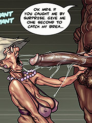 Give me one second to catch my brea... - Art class (Mature porn cartoon) by Black n White comics